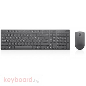 Клавиатура LENOVO Professional Ultraslim Wireless Combo Keyboard and Mouse- US Euro