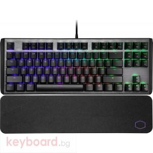 Геймърска Mеханична Клавиатура Cooler Master CK530 V2 TKL RGB, Gateron Blue суичове