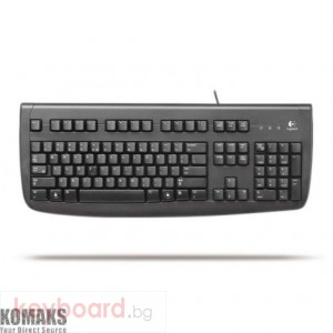Logitech Deluxe 250 keyboard PS/2, BLK, Estonian layout
