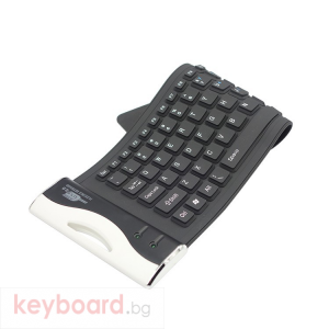 Клавиатура, No brand, Силиконова, USB, Различни цветове