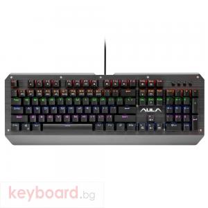 Механична Геймърска Клавиатура Aula SL-2039, Сив