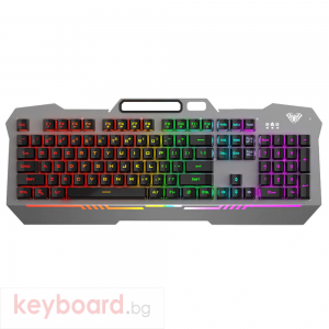 Геймърска клавиатура Aula F3010, Сребрист –