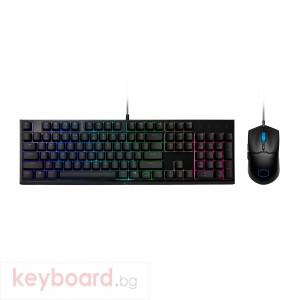 Геймърски комплект мишка с клавиатура Cooler Master MS110 RGB Mem-chanical