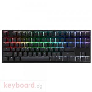 Геймърскa механична клавиатура Ducky One 2 TKL RGB, Kailh BOX White