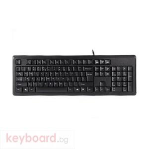 Клавиатура A4tech KR92, USB, Черна