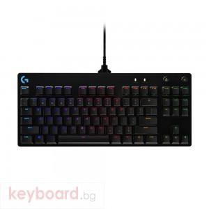 Геймърска механична клавиатура Logitech G Pro Clicky RGB