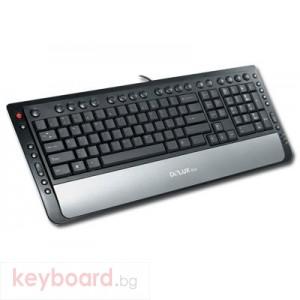Клавиатура DELUX DLK-5108/USB/BULG/GB USB/PS/2