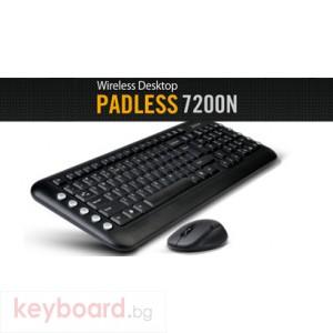 Клавиатура A4 TECH 7200N Комплект безжични клавиатура и мишка