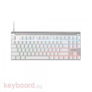 Геймърскa механична клавиатура Cherry MX Board 8.0 S Silver TKL, Cherry MX Red