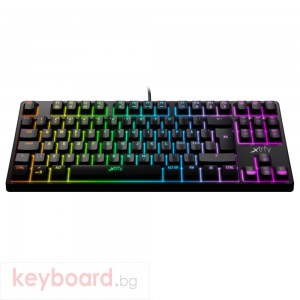 Геймърскa механична клавиатура Xtrfy K4 TKL RGB Kailh Red Switch, UK Layout