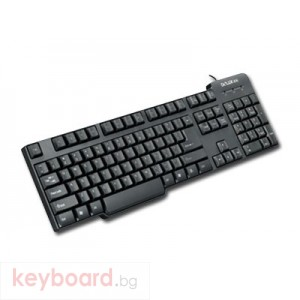 Клавиатура DELUX DLK-8050U USB, черна, BG