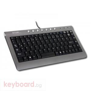 Клавиатура DELUX DLK-5300U/USB/BULG/GB USB
