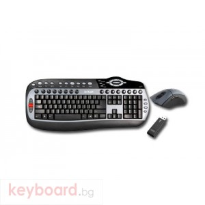 Клавиатура DELUX DL-K8000G-M315GL-GC18UF/BULG Wireless
