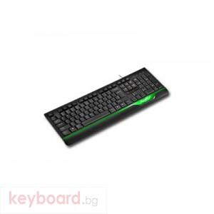 Клавиатура DELUX DLK-6000/USB/BLACK/BULG USB 2.0