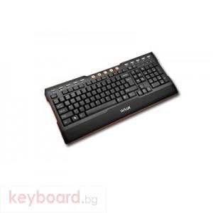 Клавиатура DELUX DLK-5881/USB/BLACK/BULG USB 2.0