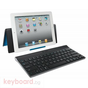Logitech Tablet Keyboard for iPad, Belgium Layout, AZERTY