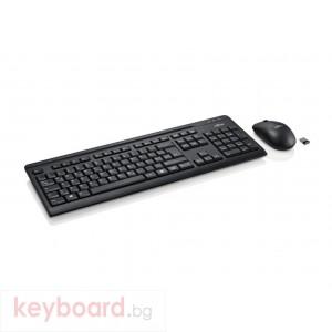 Kомплект клавиатура с мишка Fujitsu LX410, USB, Черен