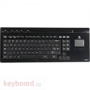Клавиатура Logitech Wireless Bluetooth Mediaboard Pro with touch pad, BG Layout