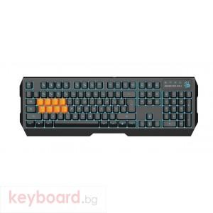 Геймърска полу-механична клавиатура A4tech Bloody, B188, Черна