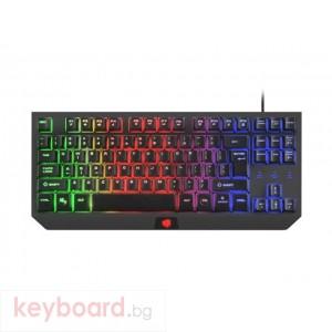 FURY Gaming kayboard, Hurricane TKL, rainbow backlight, US layout