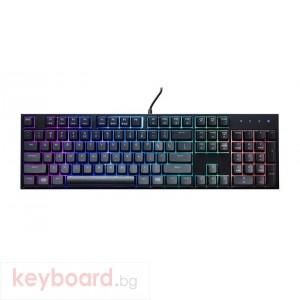 Геймърскa клавиатура Cooler Master, MasterKeys Lite L RGB USB 1.8m