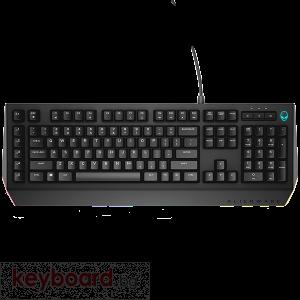 Клавиатура Alienware Advanced Gaming Keyboard - AW568 - US International QWERTY