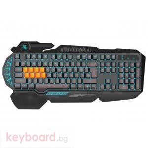 Геймърска клавиатура Bloody B318 Light strike, 8-Infrared Swich, USB