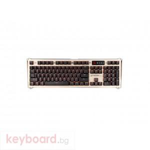 Геймърска клавиатура Bloody B840 Full LK Optical, Blue Switch, USB, 1.8m кабел