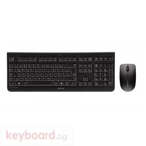 Безжичен комплект CHERRY DW 3000, Черен USB