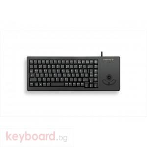 Индустриална клавиатура CHERRY G84-5400 с Trackball Черна