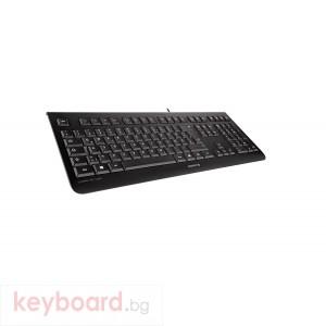 Стандартна клавиатура CHERRY KC 1000 Черен Жично USB