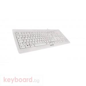 Клавиатура CHERRY Stream 3.0, Жичнa, Бяла