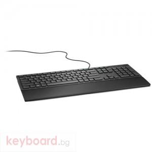 Клавиатура Dell KB216 US мултимедийна черна