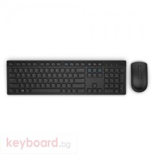 Безжичен комплект Dell KM636 UK layout черен
