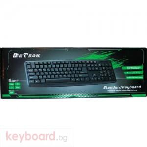 Клавиатура DeTech KB300S USB кирилизирана
