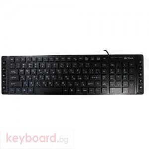 Клавиатура Мултимедийна Клавиатура DeTech KB344М USB