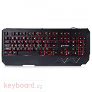 Геймърска клавиатура FanTech K11, Черен