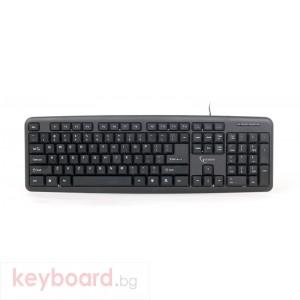 Клавиатура Gembyrd KB-U-103, USB, BG, черен
