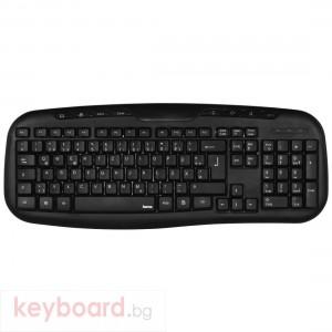 Мултимедийна клавиатура HAMA Cellino Черна USB