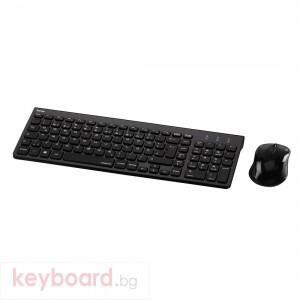 Комплект клавиатура и мишка HAMA Trento 50445 Безжичен