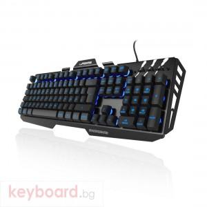 Геймърска клавиатура Hama, Urage Cyberboard, USB, RGB