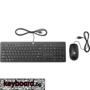 Клавиатура HP Slim USB Keyboard and Mouse