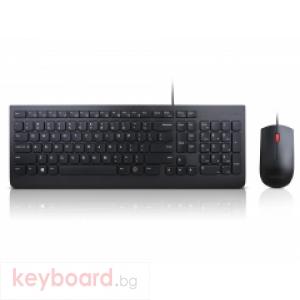 Клавиатура и мишка LENOVO Essential - Български