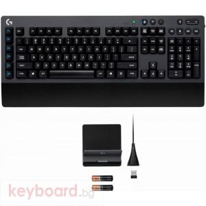 Безжична геймърска механична клавиатура Logitech G613 Romer-G суичове