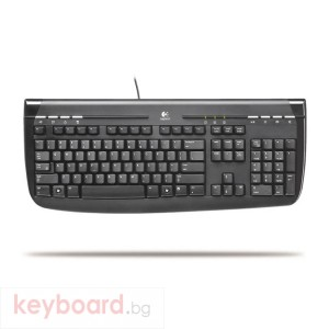 Клавиатура LOGITECH INTERNET350 USB BLACK - Second Hand