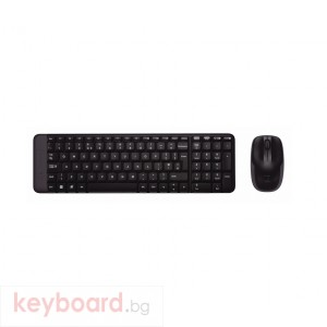 Клавиатура LOGITECH Wireless Combo MK220 (ремаркетиран продукт)