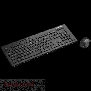 Клавиатура Multimedia 2.4GHZ wireless combo-set