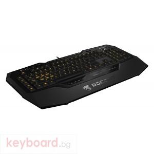 Геймърска клавиатура Roccat, Isku+ Force FX Illuminated, Мембранна
