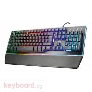 Клавиатура TRUST GXT 860 Thura геймърска