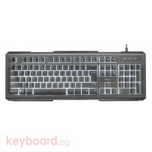 Клавиатура TRUST Lito Backlit Multimedia Keyboard